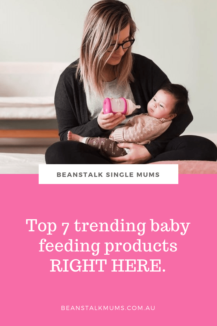Top 7 trending baby feeding products for mum to be | Beanstalk Single Mums Pinterest
