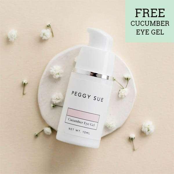 Peggy Sue   Free eye gel   Beanstalk Discount Directory