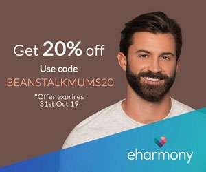 20% Off eHarmony | Beanstalk Mums
