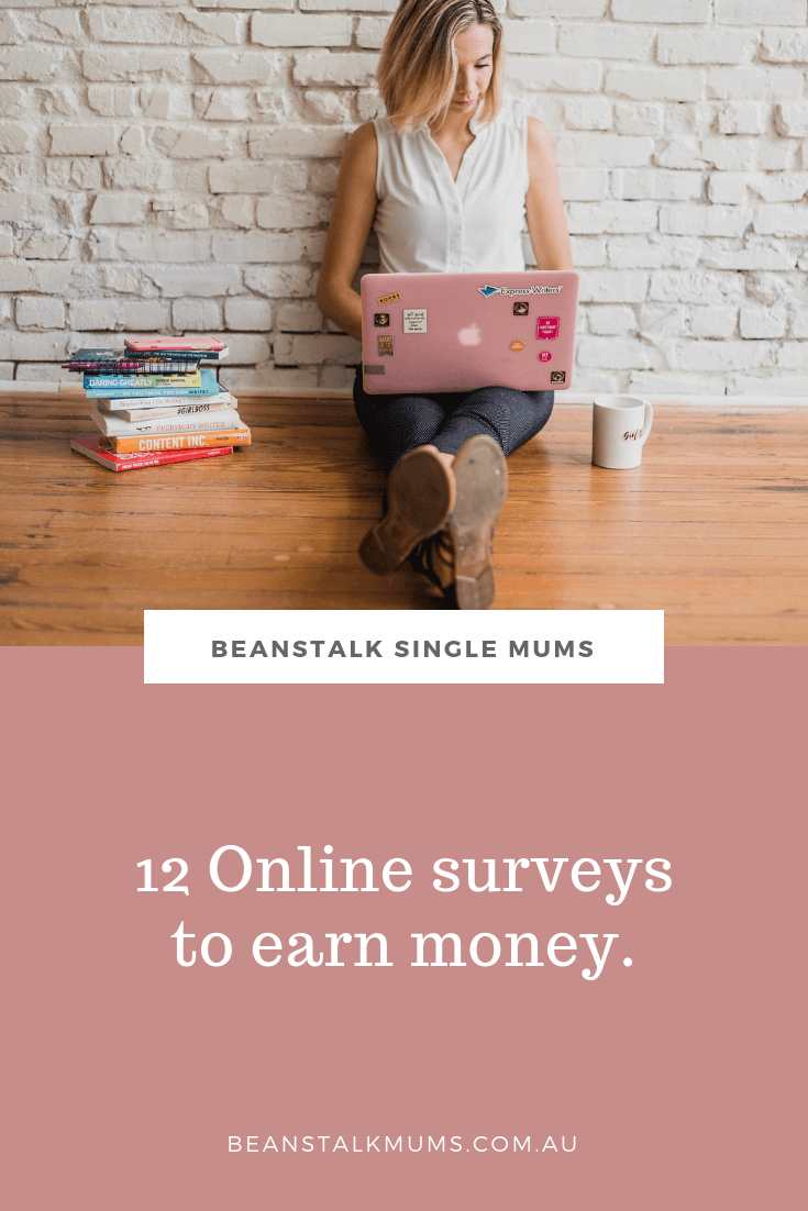 Top 12 best paid surveys in Australia | Beanstalk Single Mums Pinterest
