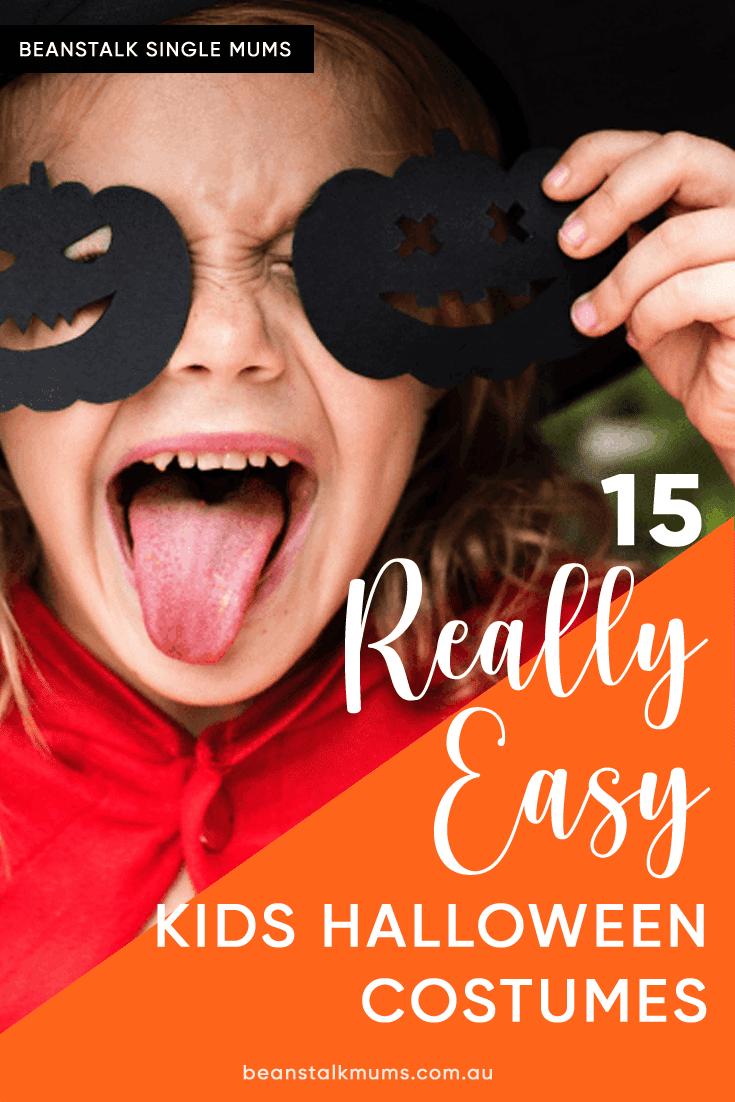 Kids Halloween costumes   Beanstalk Single Mums Pinterest