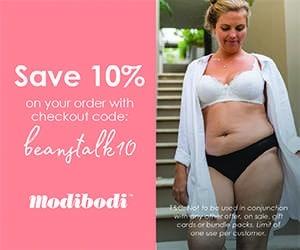 Modibodi | Discount | Beanstalk Mums