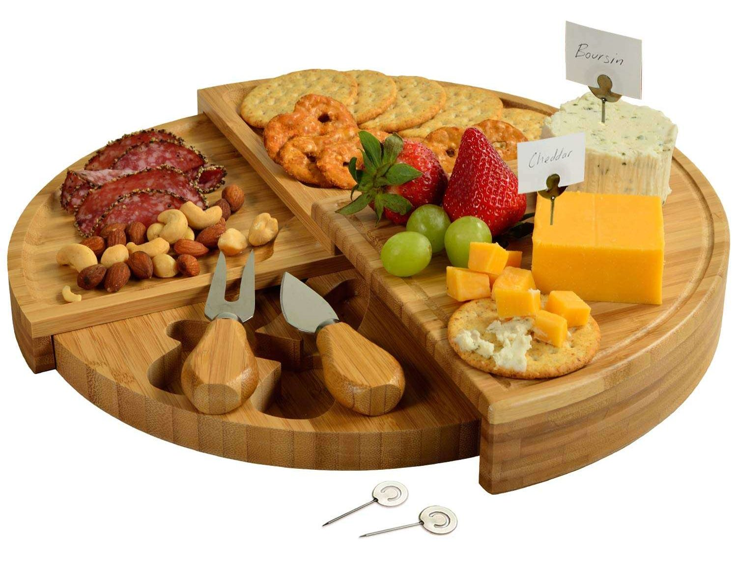 Portable Tiered Cheese Board | Beanstalk Mums