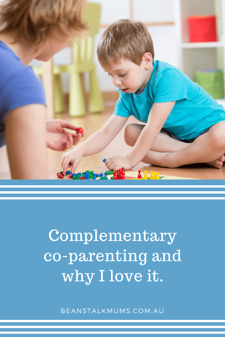 Complementary co-parenting | Beanstalk Single Mums Pinterest