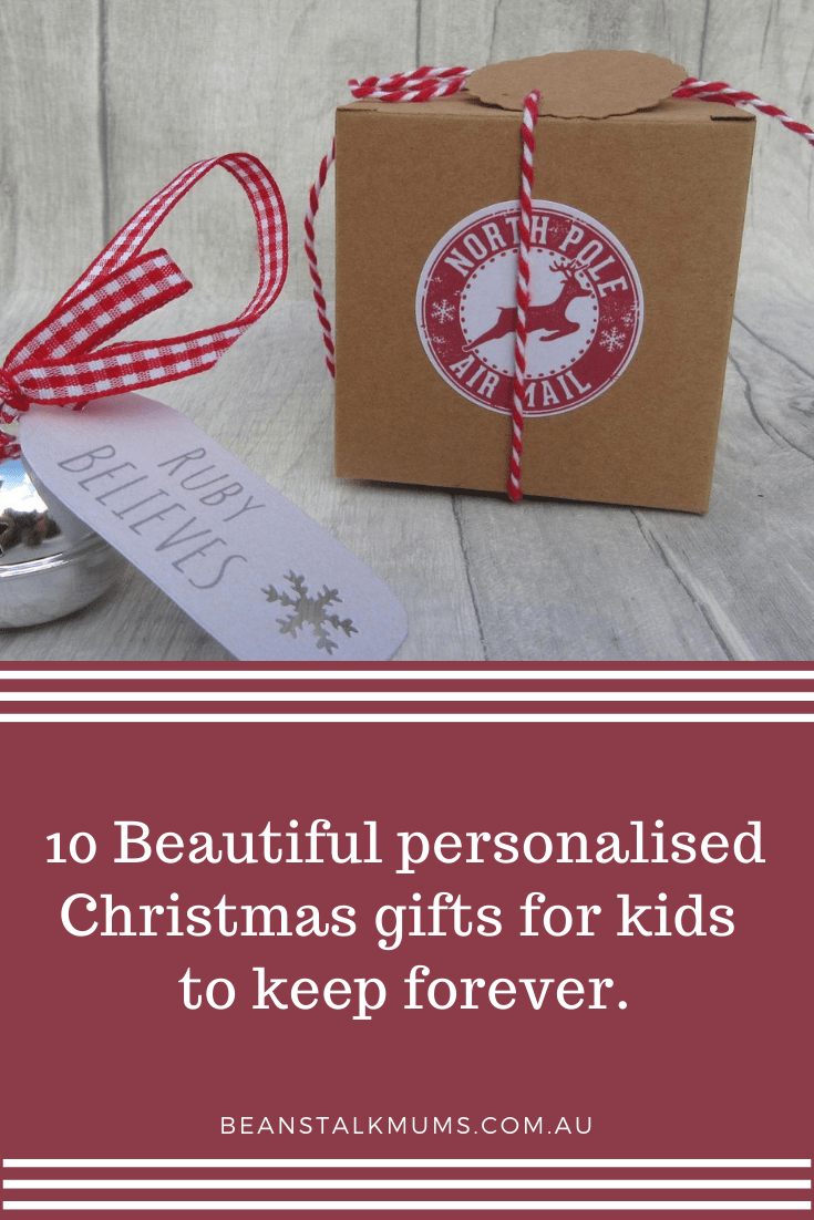 Personalised Christmas gifts for kids | Beanstalk Single Mums Pinterest