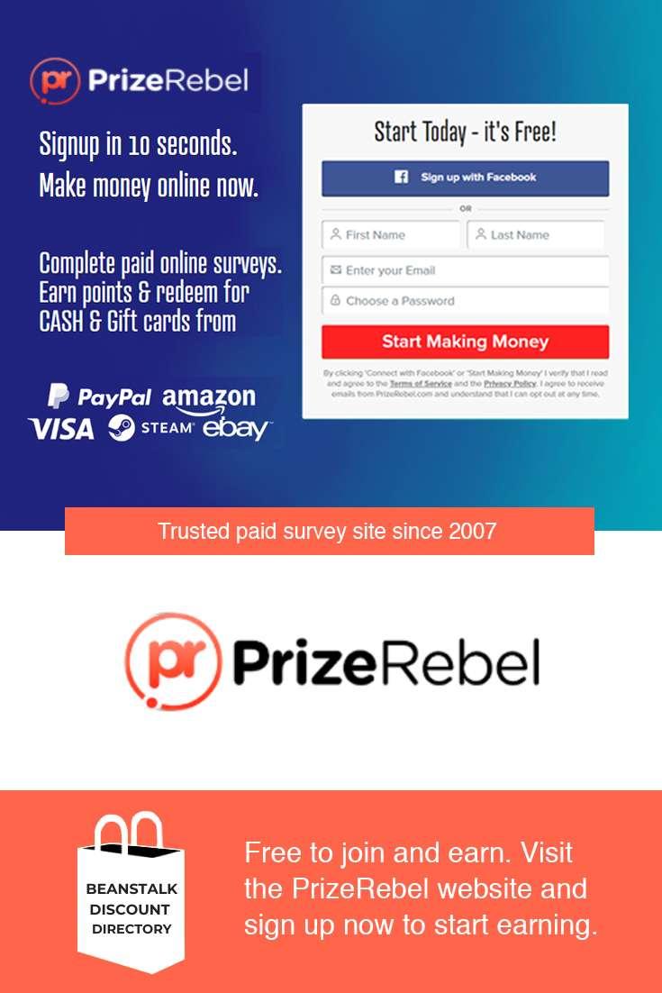 PrizeRebel | Beanstalk Mums