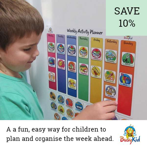 Busy Kids Planners | Beanstalk Discount Directory