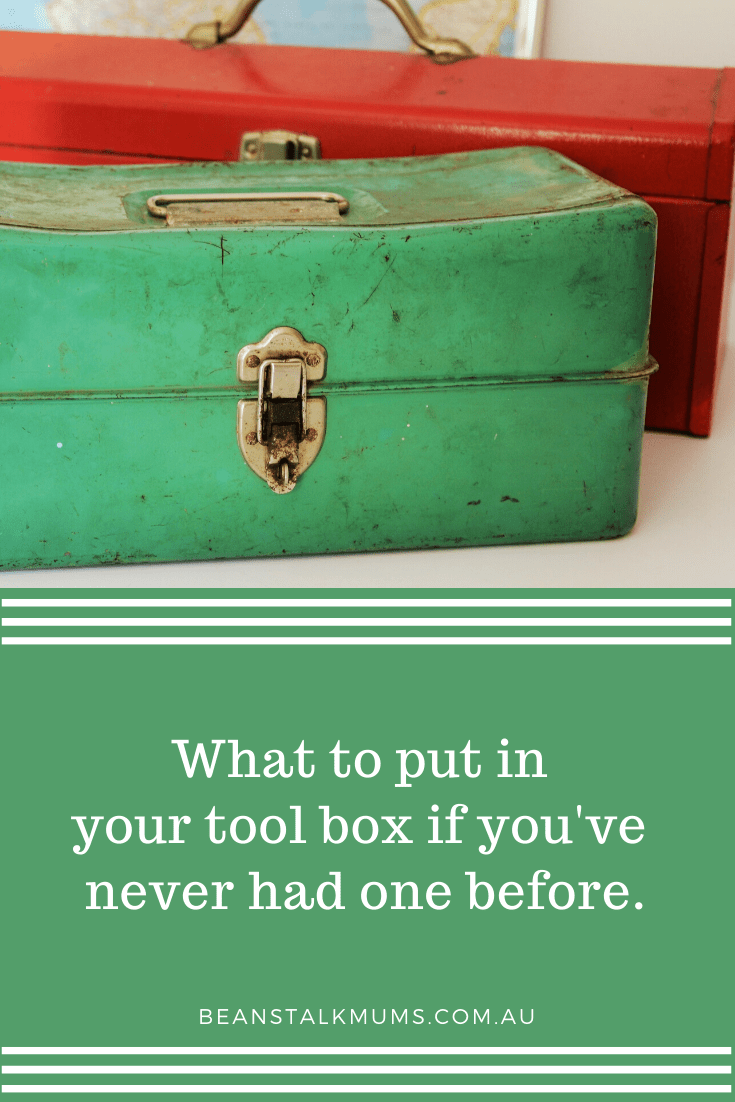 What to put in your tool box   Beanstalk Single Mums Pinterest