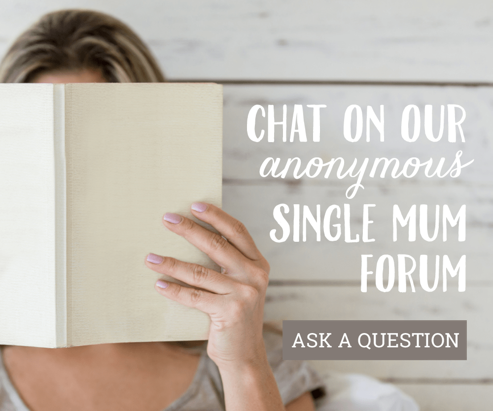 Anonymous single mum forum | Beanstalk Mums
