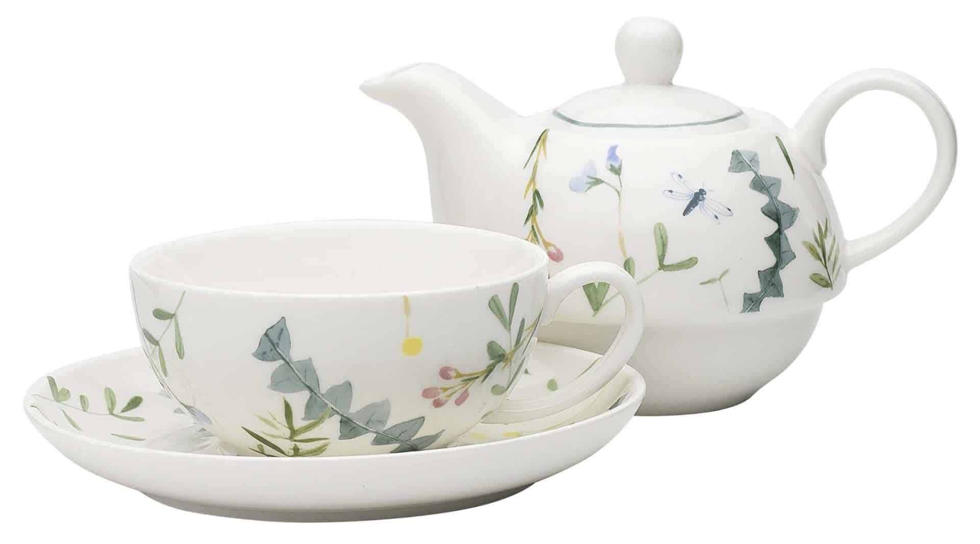 3 Piece Greenhouse Tea Set | Beanstalk Mums