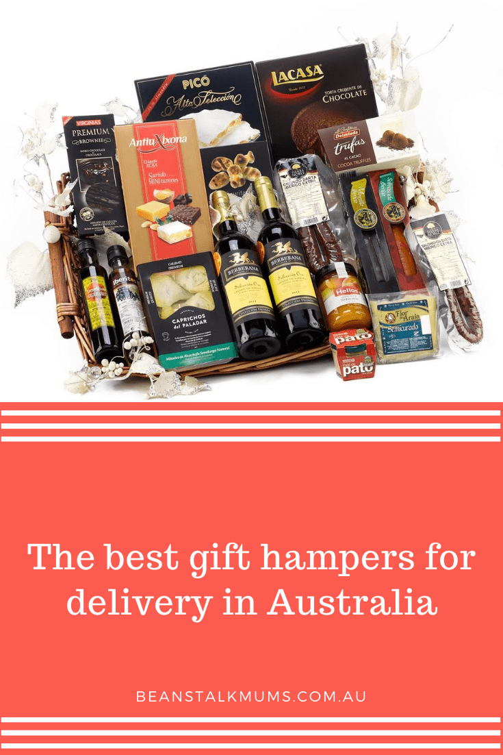 The best gift hampers for delivery in Australia | Beanstalk Single Mums Pinterest