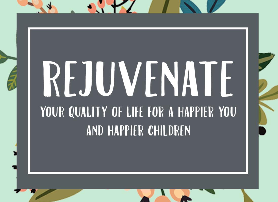 Rejuvenate your single mum life