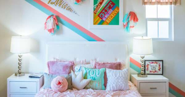 Bedroom ideas for little girls | Beanstalk Mums