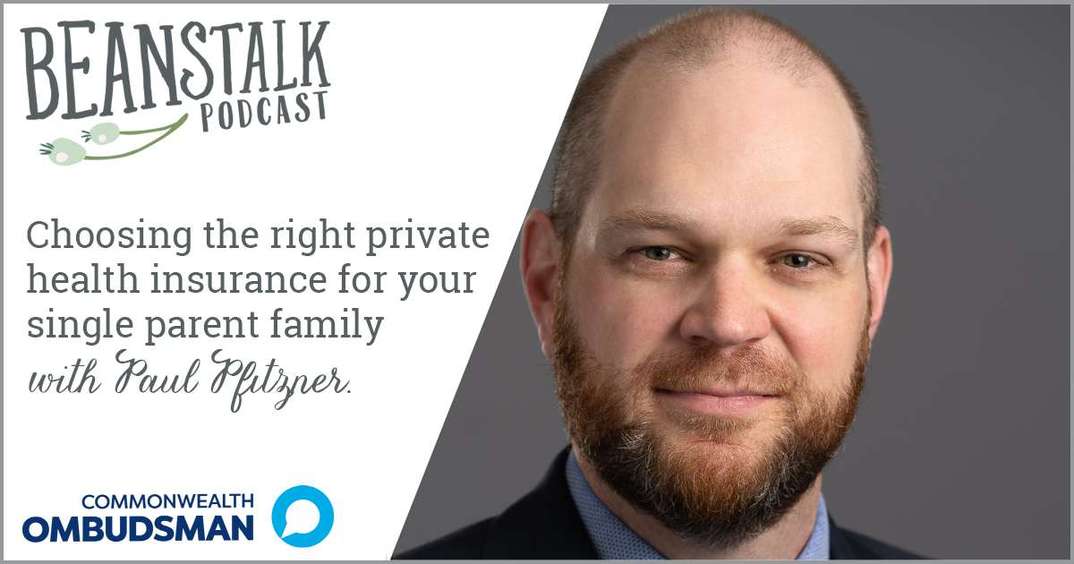 Private health insurance for single parents | Beanstalk Mums Podcast