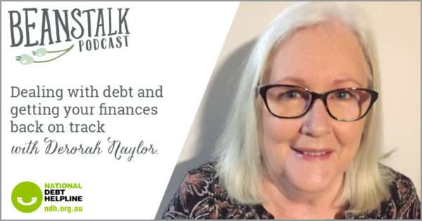 Dealing with debt and getting your finances back on track | Beanstalk Single Mums Podcast