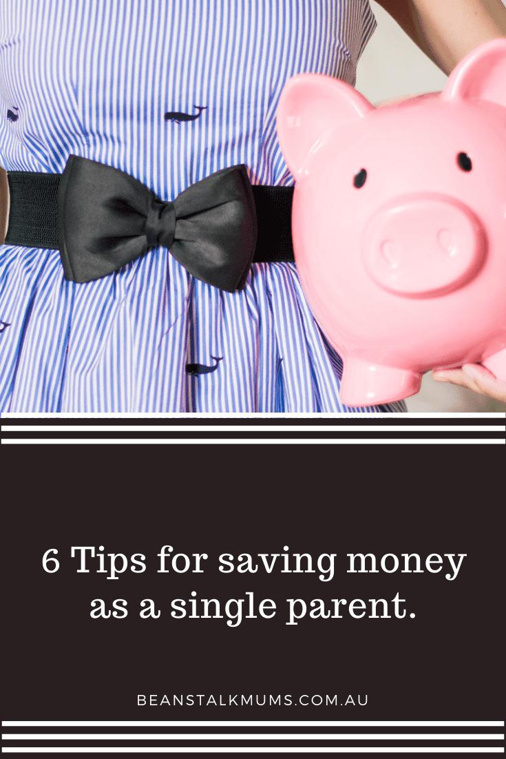 Saving money as a single mum | Beanstalk Single Mums Pinterest