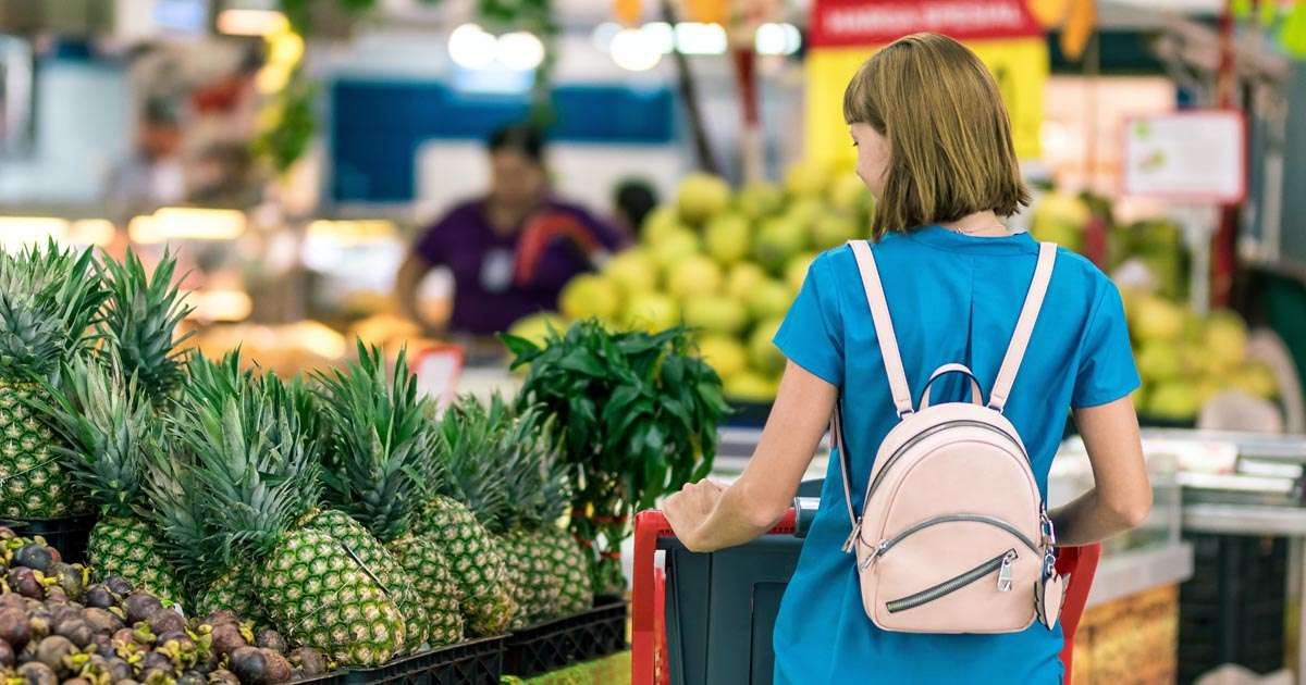 Woolworths or Coles online shopping | Beanstalk Mums