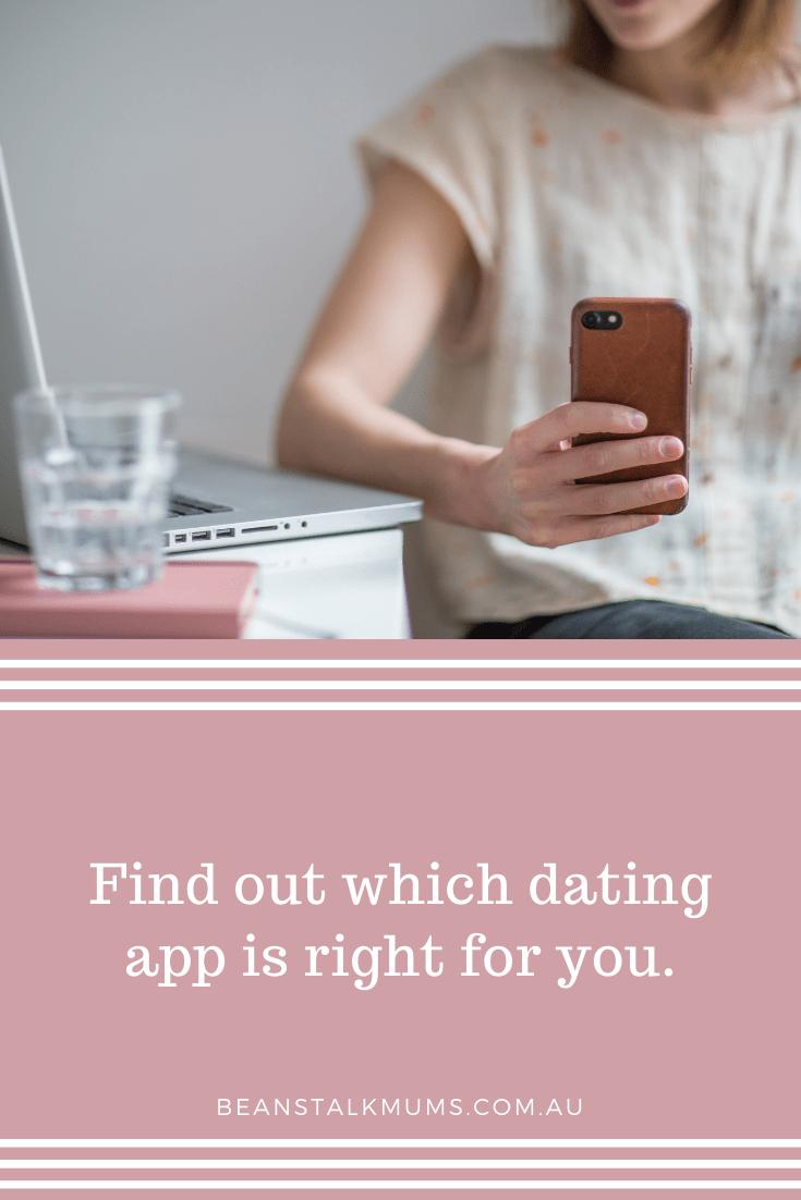 Dating app | Beanstalk Single Mums Pinterest