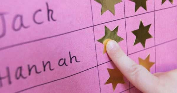 Reward chart for kids | Beanstalk Mums
