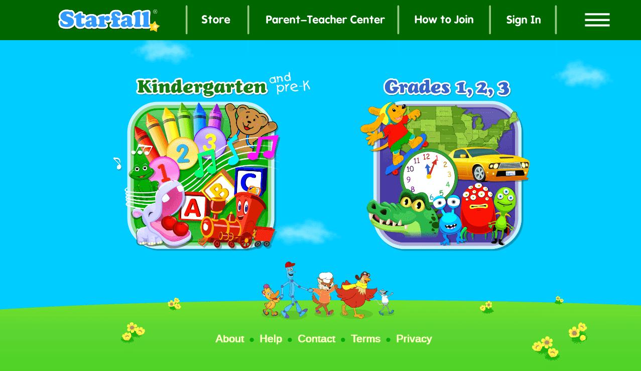 Free Educational Websites | Strafall | Beanstalk Mums