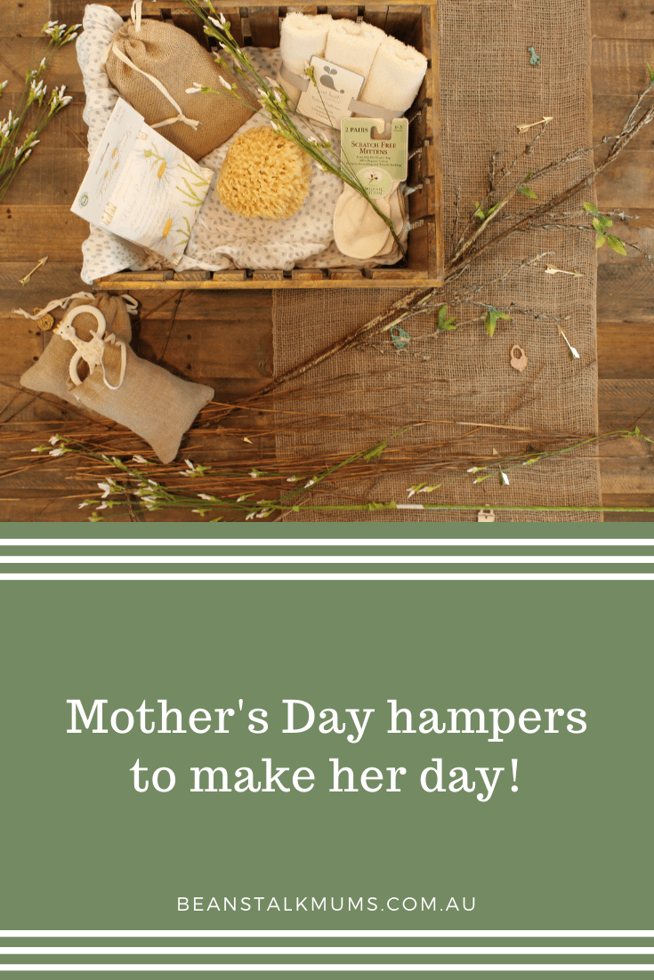 Mother's Day hampers | Beanstalk Single Mums Pinterest