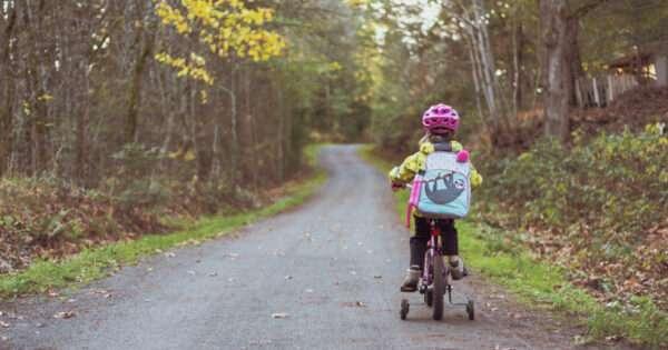 Teach child ride bike | Beanstalk Mums