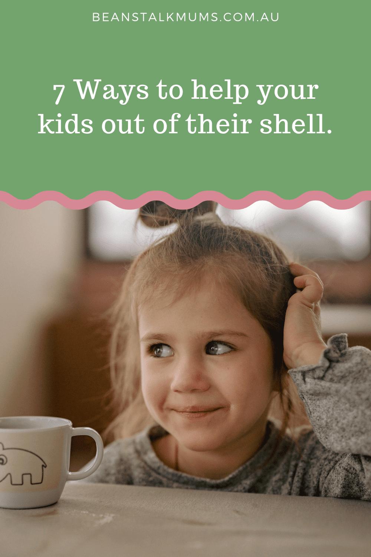 Kids out of shell   Beanstalk Single Mums Pinterest