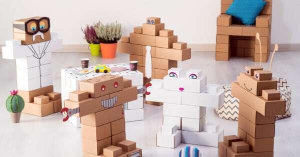 Play Edo: Recyclable Cardboard Warrior